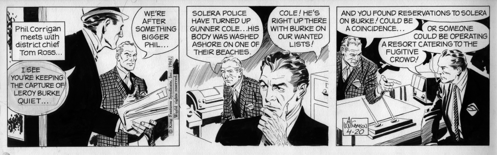 Secret Agent Corrigan 20 april 1967