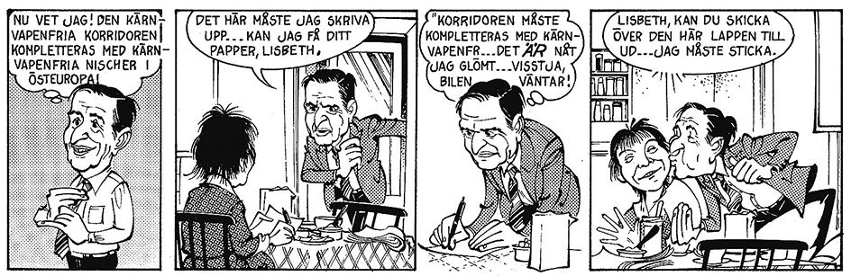 Olof Palme figurerar i Ratte