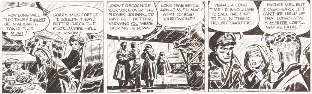 Johnny Hazard från 26 augusti 1947