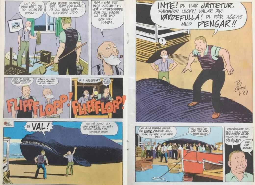 Buz Saywers polare Roscoe Sweeney ur SeriePressen nr 7, 1993