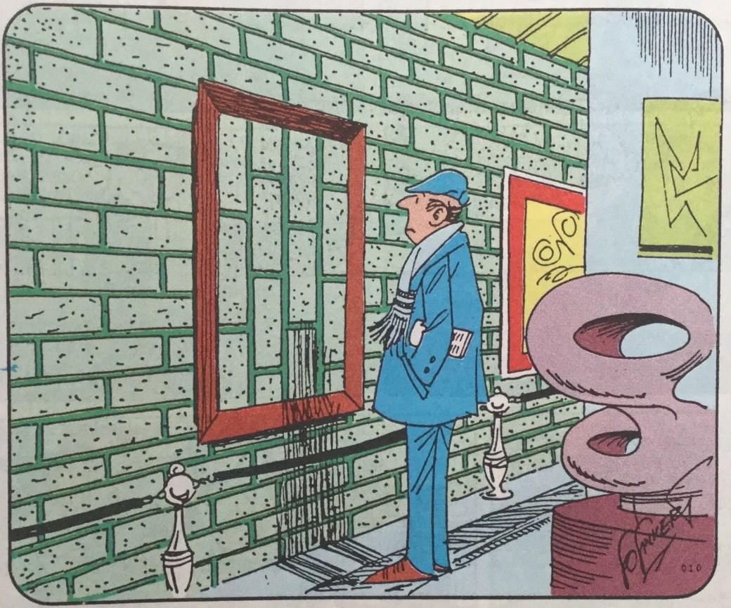 Tecknaren publicerades under titeln Carrousel i SeriePressen nr 1, 1993