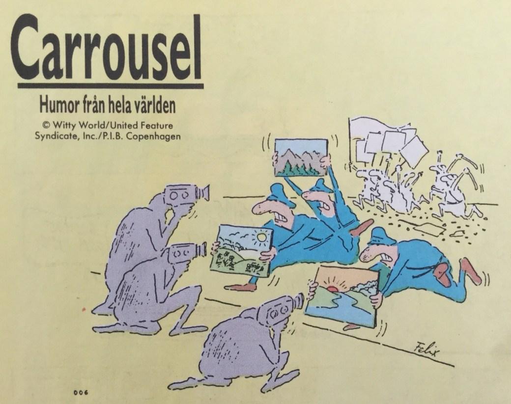 Felix ur Carrousel från SeriePressen nr 8, 1993