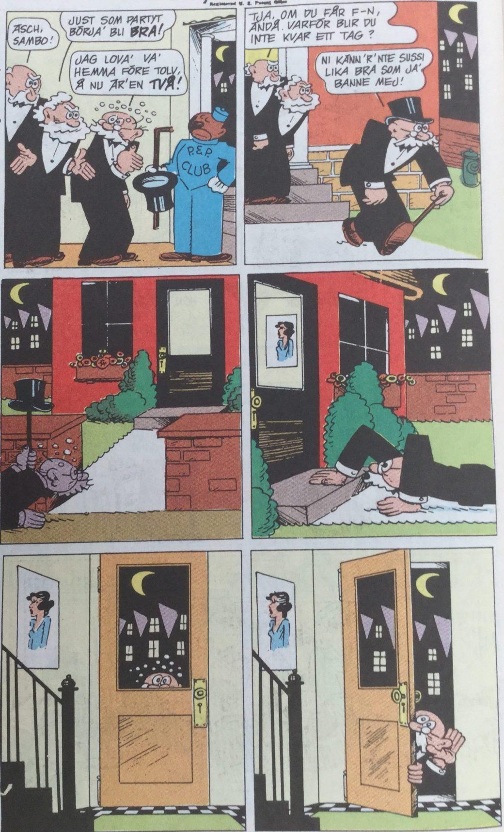 Polly och Pär ur SeriePressen nr 4, 1993 - del 1