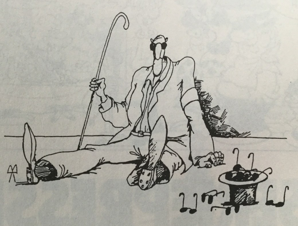 Kovařík ur titeln Carrousel från SeriePressen nr 1, 1994