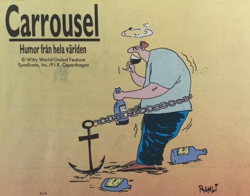 Ramli Badrudin ur Carrousel från SeriePressen nr 9, 1993. ©PIB