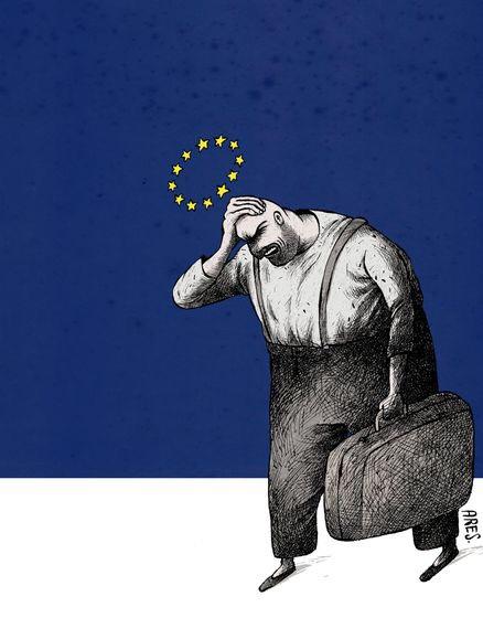 EU huvudvärk, av Aristides Hernandez