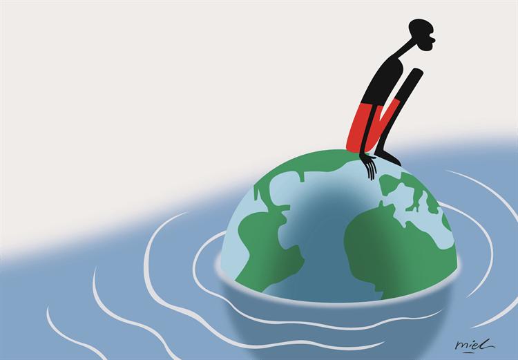 Deng Coy Miel om flyktingsituationen i världen