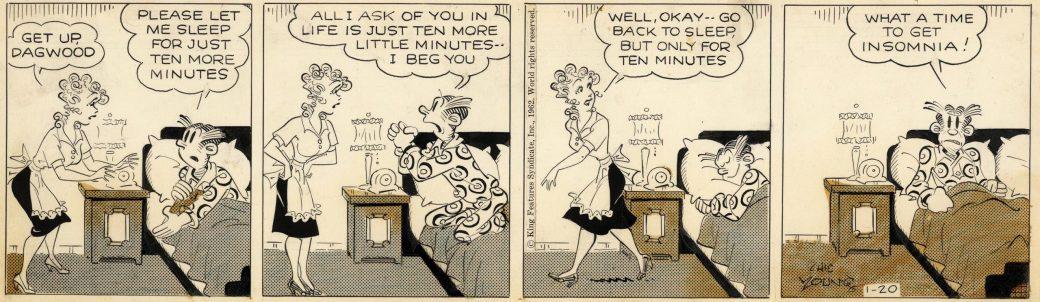 Dagsstripp från 20 januari, 1962