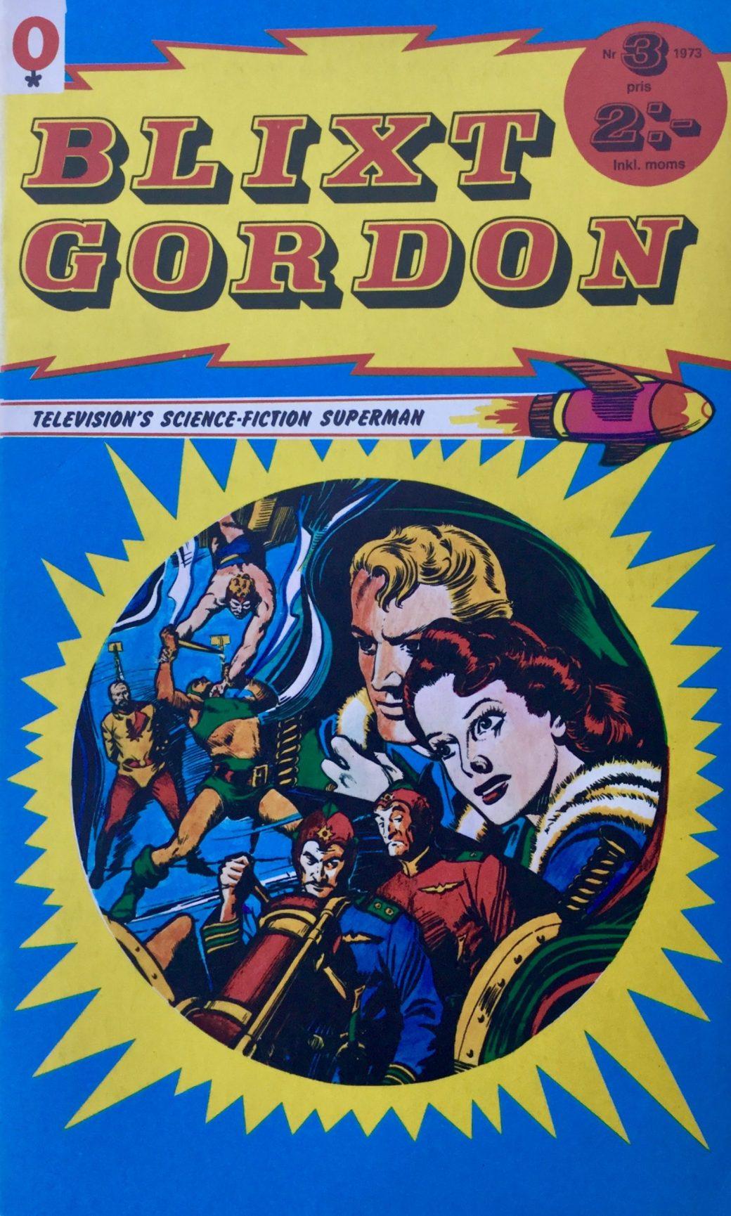 Omslag till Blixt Gordon nr 3, 1973