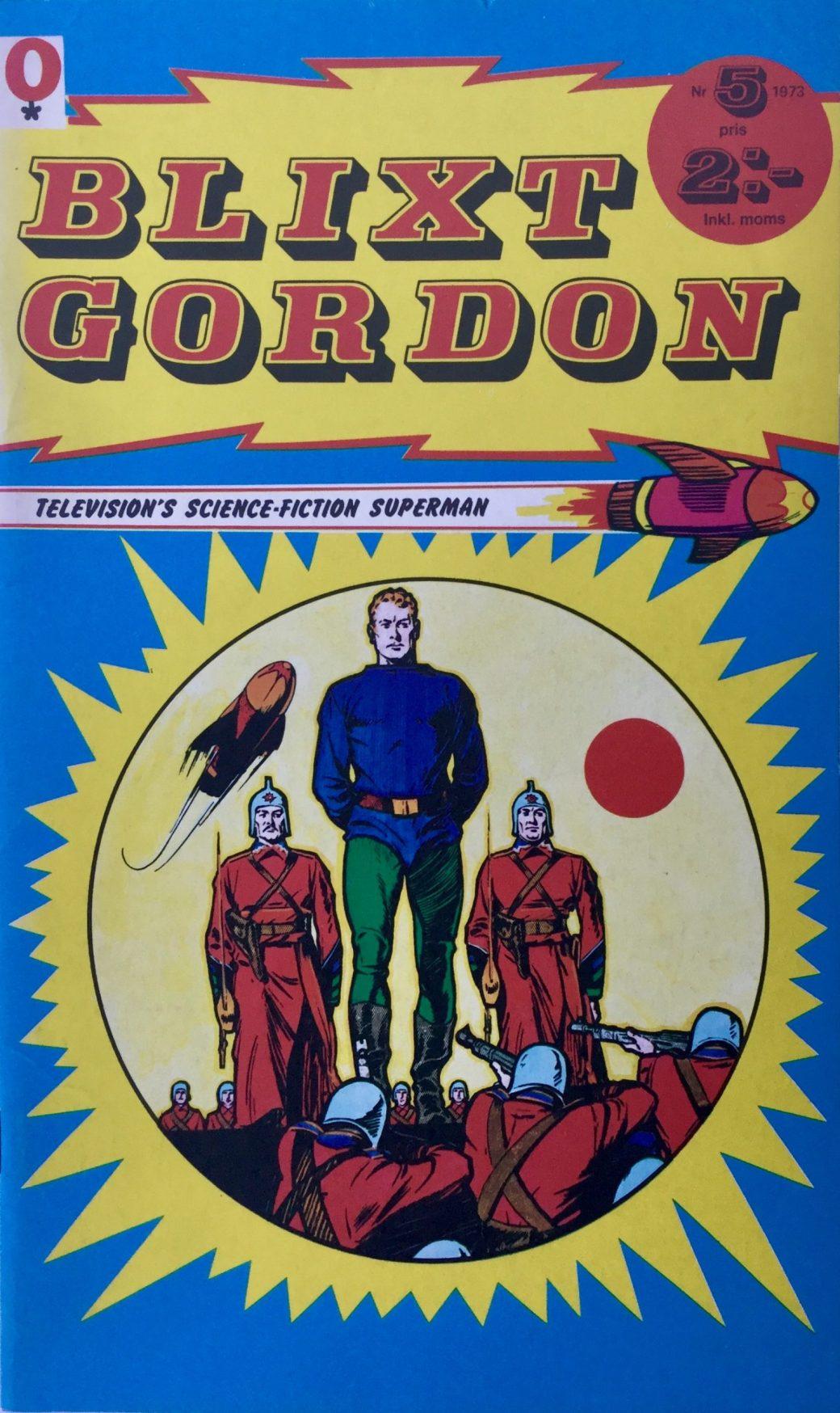Omslag till Blixt Gordon nr 5, 1973.