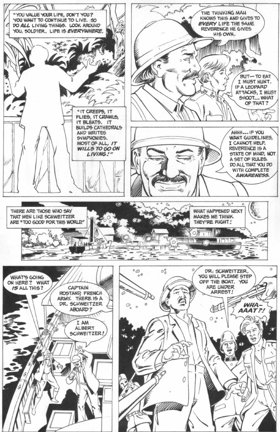 En Indiana Jones-sida av Dan Barry