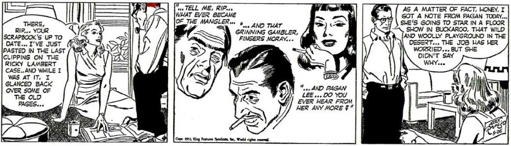 En stripp från 26 maj 1952