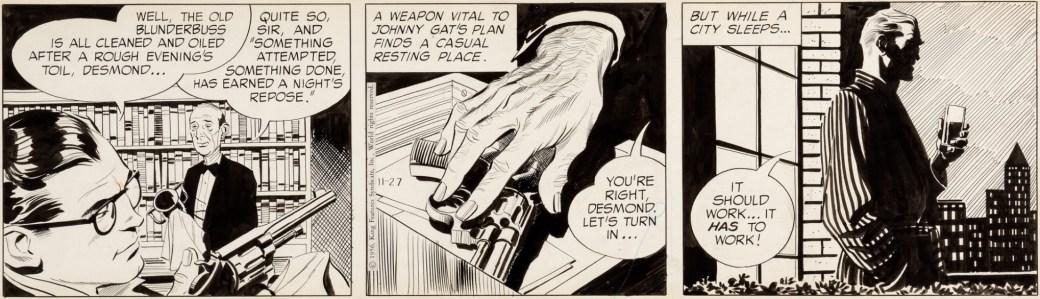 En tidig stripp av John Prentice från 27 oktober 1956