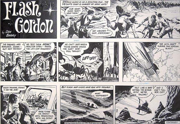 En söndagssida av Barry från 1971