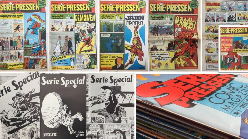 Rogers Seriemagasin skriver om Serie-Pressen som var en förebild för nya SeriePressen, men som föregicks av SerieSpecial