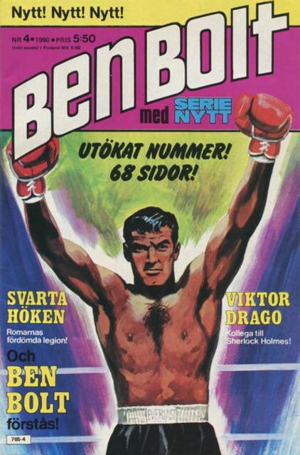 Ben Bolt med Serie-Nytt nr 4, 1980