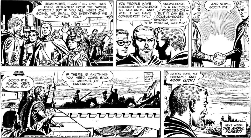 Flash Gordon 17-18 oktober 1952