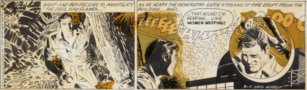 Originalet till en dagsstripp av Gray Morrow från 11 augusti 1977