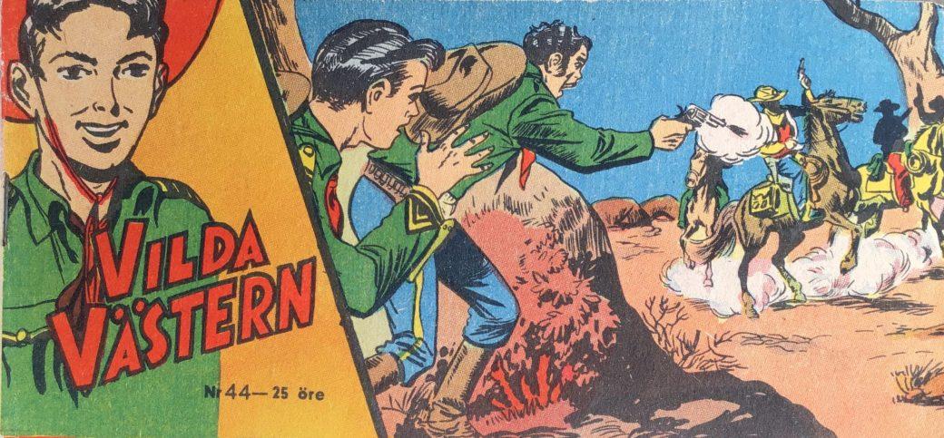 Vilda Västern med Kapten Miki nr 44, 1957