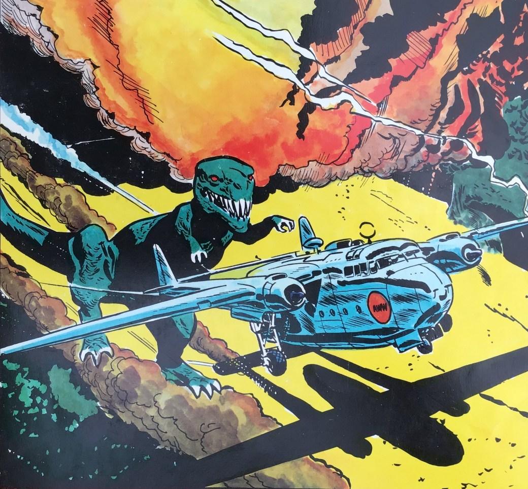 En ruta från söndagsserien från slutet av 40-talet, ur Comics 6 - den stora serieboken.