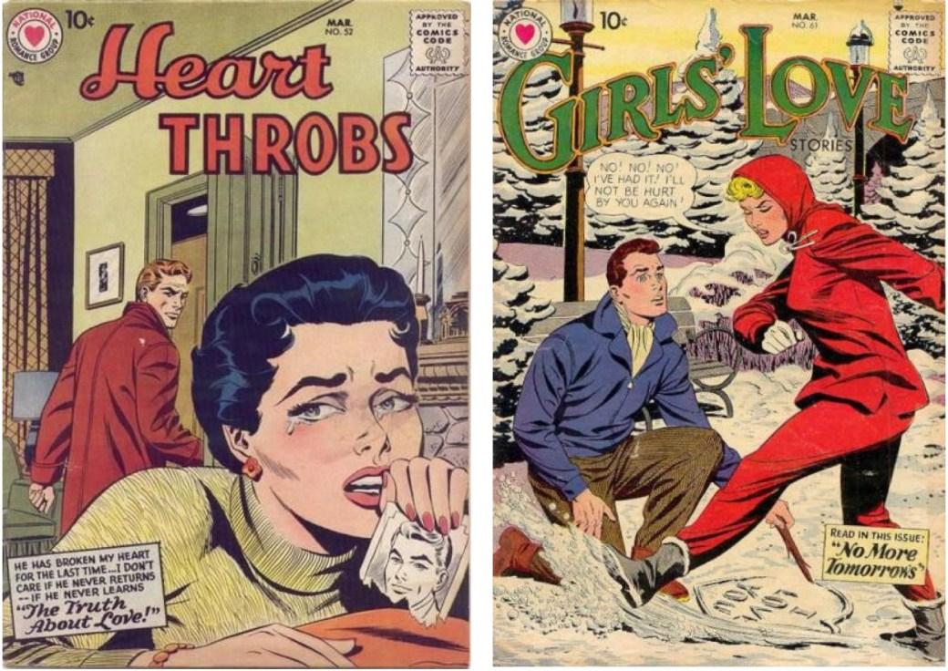 På National fick Barry teckna bl.a. kärleksserier.