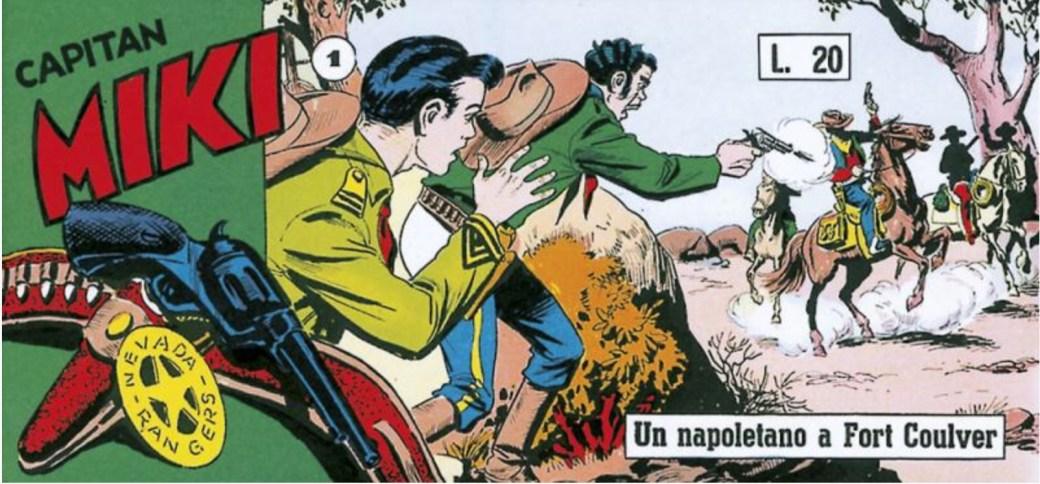 Capitan Miki nr 1, 1957