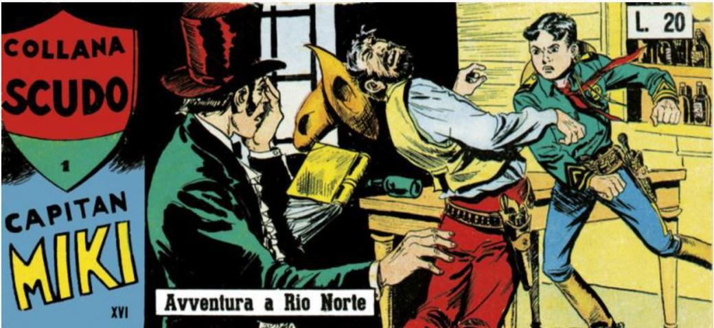 Capitan Miki nr 1, 1958