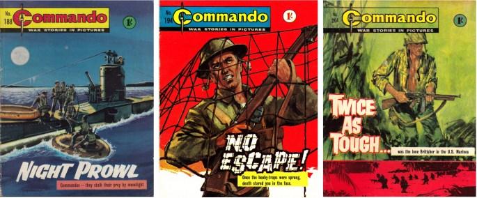 Commando från förlaget DC Thomson var den stora konkurrenten till Fleetway