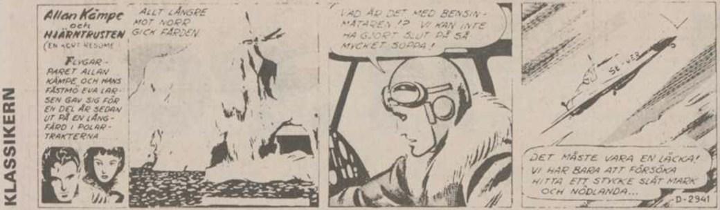Den 15 juni 1990 inledde DN-Klassikern sin publicering av Allan Kämpe