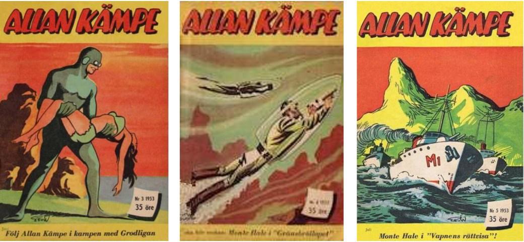 Allan Kämpe nr 3-5, 1953