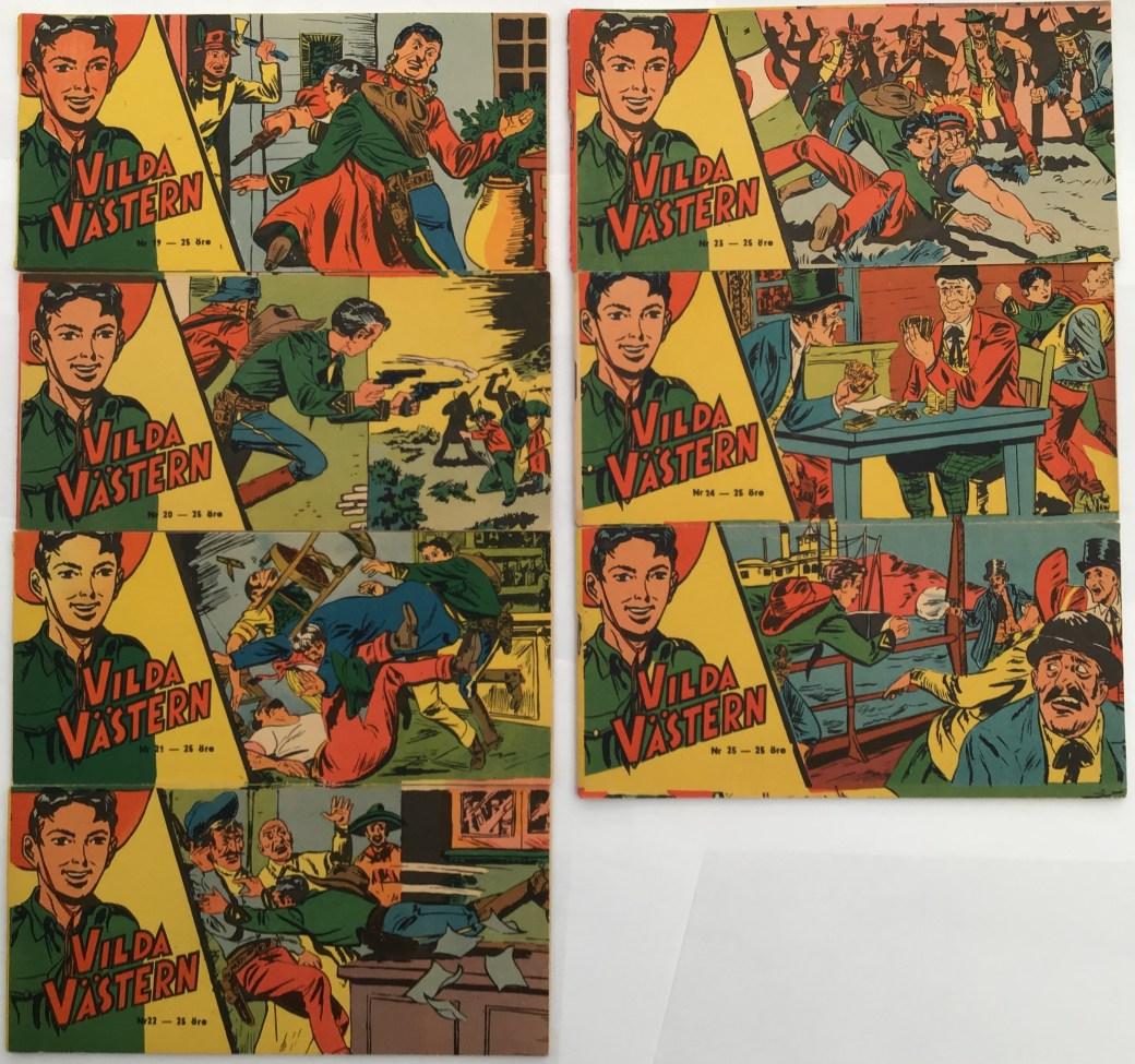 Vilda Västern nr 19-25, 1958