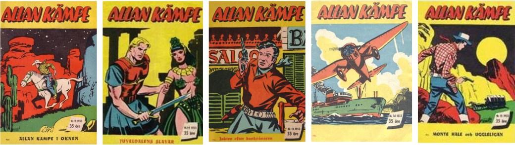 Allan Kämpe nr 11-15, 1953
