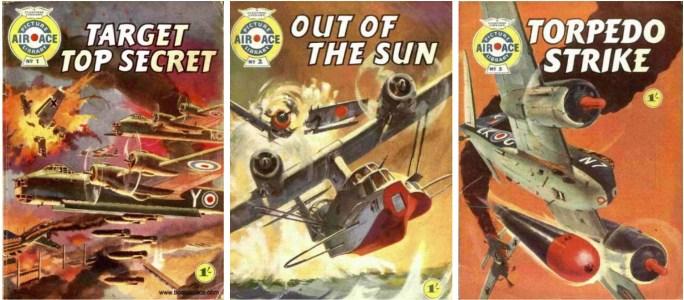 Air Ace Picture Library var en systertitel till War Picture Library, men som så småningom fusionerades med WPL