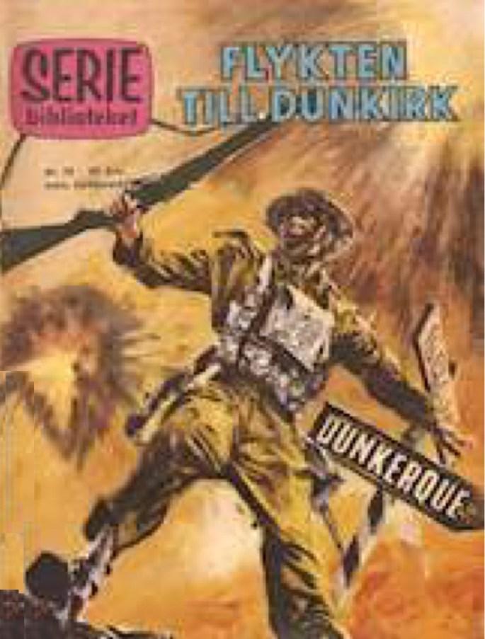 Innehållet från WPL #1 publicerades i Seriebiblioteket nr 20, 1960