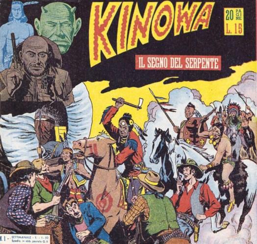 Omslag till Kinowa nr 1, av EsseGesse från 1 maj 1950