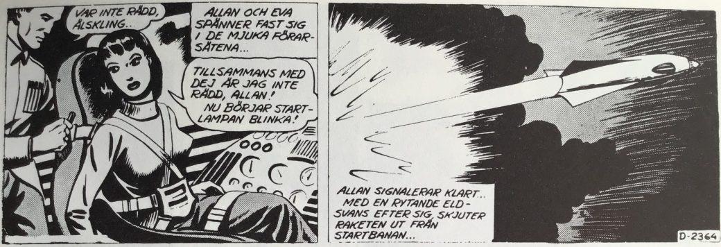 Allan Kämpe, stripp nr D-2364