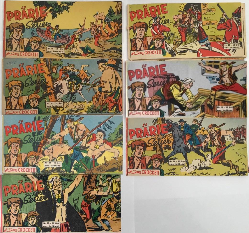 Davy Crockett 1960 i Prärieserier nr 19-25, 1960