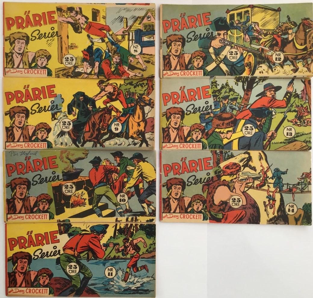 Davy Crockett-äventyr 1959 i Prärieserier nr 8-14, 1959