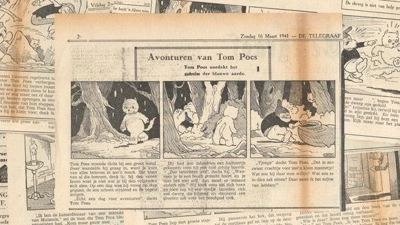 Tom Puss var en tecknad serie utan pratbubblor