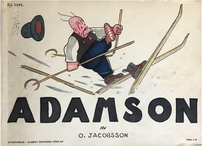 Julalbum med Adamson av Oscar Jacobsson från 1929