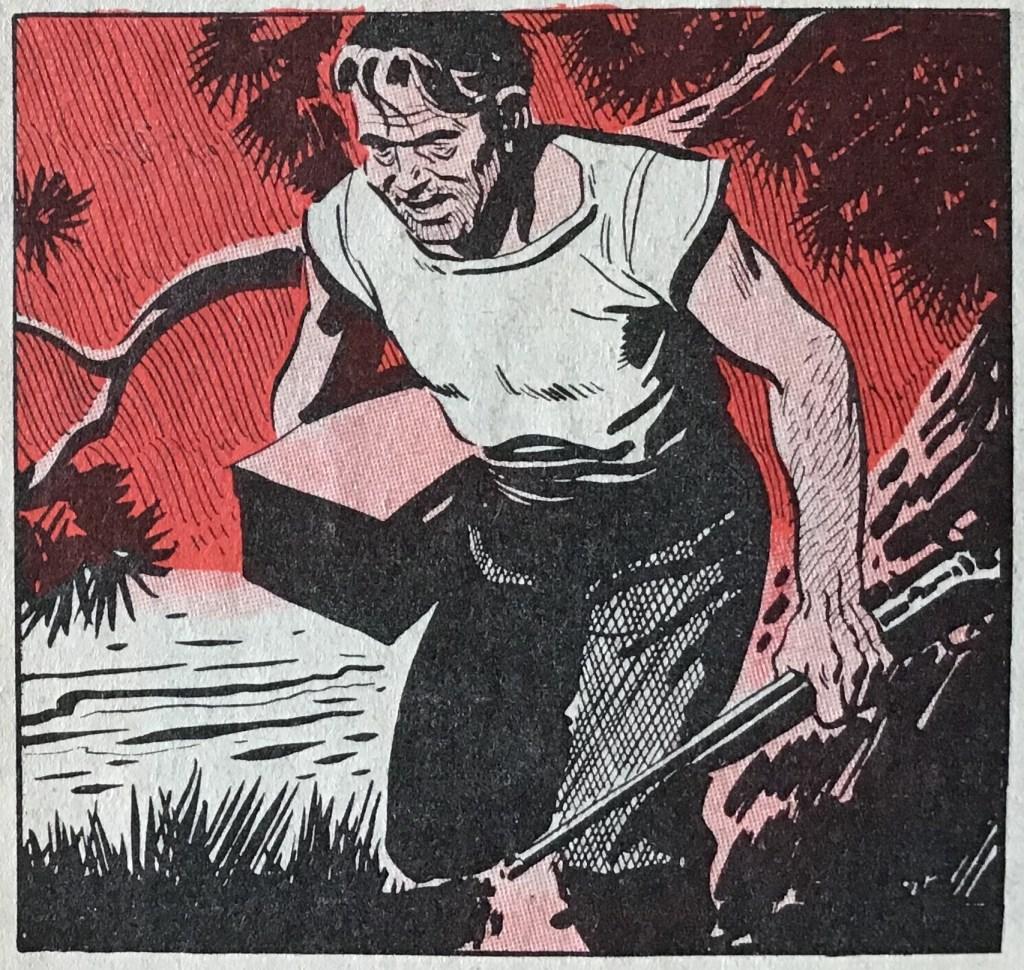 Samma serieruta från Karl-Alfred nr 24, 1953