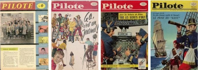 Serietidningen Pilote startade 1959 med nummer 0 (noll)