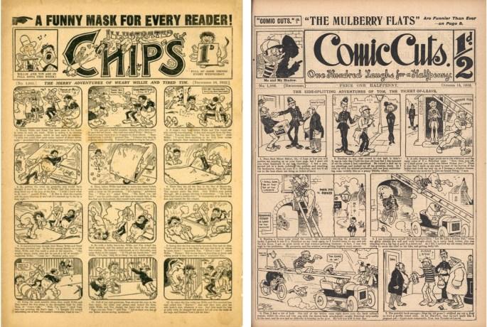 Amalgamated Press var det dominerade brittiska förlaget för tecknade serier på det tidiga 1900-talet