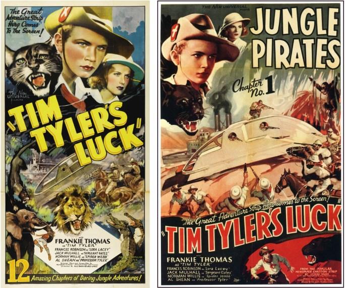 Frankie Thomas spelade Tim Tyler i filmserien