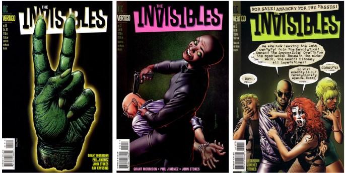 Brian Bolland gjorde omslag till the Invisbles från 1997