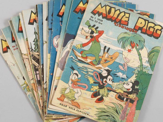 """Serietidningen """"Musse Pigg-tidningen"""" från 1938"""