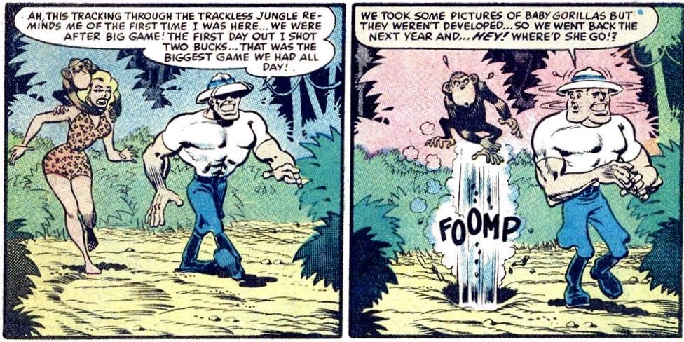 Vägen till gruvorna föranleder en del oförutsedda händelser.