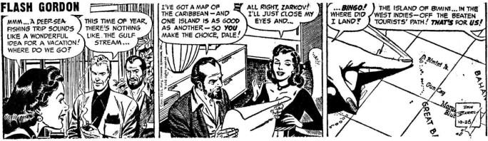 Originalstrippen från 26 oktober 1953