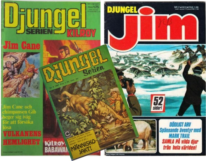 Djungelserien ersattes av Djungel-Jim