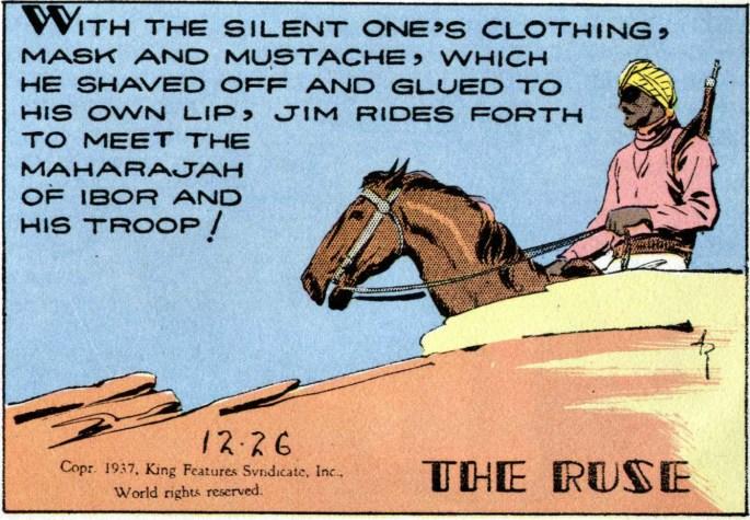 """Jim maskerar sig till """"den tyste"""""""